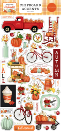Welcome Autumn Chipboard Accents