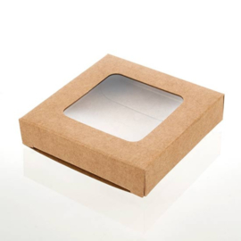 Kraft doosje (7,0 x 6,8 cm)
