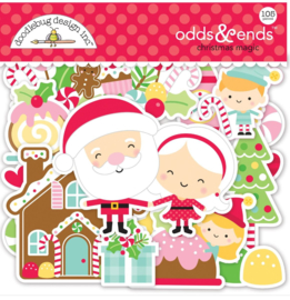 Doodlebug Design Christmas Magic Odds & Ends (6526)