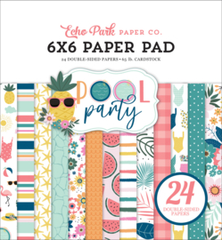 """Pool Party 6x6"""" Paper Pad"""