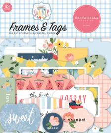 Summer Frames & Tags