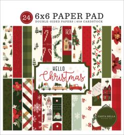 "Hello Christmas 6x6"" Paper Pad"