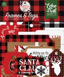 A Lumberjack Christmas Frames & Tags