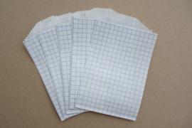 Grid Bags Mini Blauw (5 stuks)