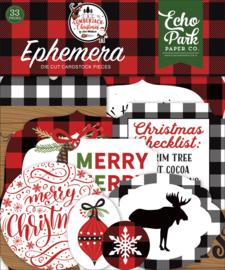 A Lumberjack Christmas Ephemera