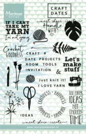 Eline's Craft Dates 1 clear stamps