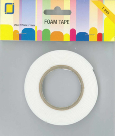 JEJE Produkt Foam Tape 2 m x 12 mm x 1 mm