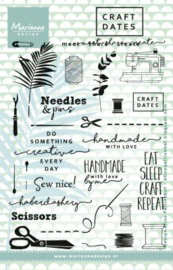 Eline's Craft Dates 2 clear stamps