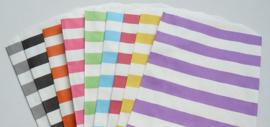 Medium Bags Streep - diverse kleuren (per stuk)