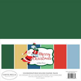Merry Christmas Solids Kit