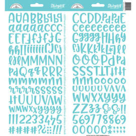 Doodlebug Design Swimming Pool Abigail Stickers (5815)