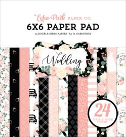 "Wedding 6x6"" Paper Pad"