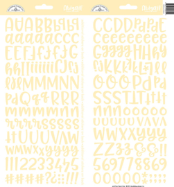 Doodlebug Design Bumblebee Abigail Stickers (5812)