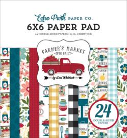 """Farmer's Market 6x6"""" Paper Pad"""