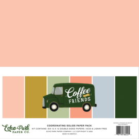Coffee and Friends Solids Kit