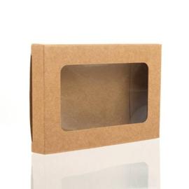 Kraft doosje (7,0 x 10,3 cm)