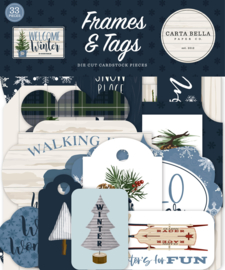 Welcome Winter Frames & Tags