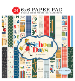School Days 6x6 Paper Pad