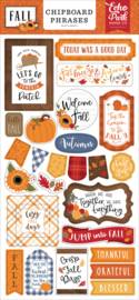 Fall Chipboard Phrases