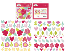 Doodlebug Love Notes Odds & Ends I Pick You (6602)