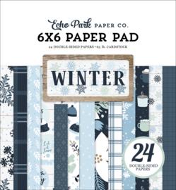 "Winter 6x6"" Paper Pad"