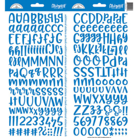 Doodlebug Design Blue Jean Abigail Stickers (5816)