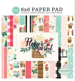 Flower Market 6x6 Paper Pad