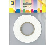 JEJE Produkt Foam Tape 2 m x 12 mm x 2 mm
