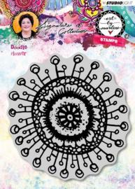 Studio Light - Art by Marlene 3.0 - Stamp Doodle Flower nr.31 STAMPBM31