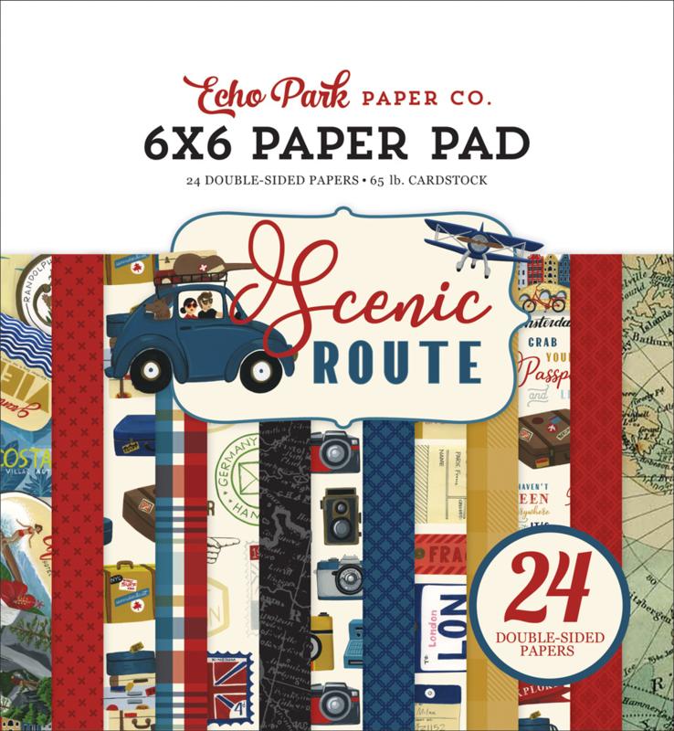 """Scenic Route 6x6"""" Paper Pad"""