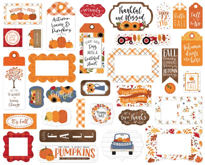 Fall Frames & Tags