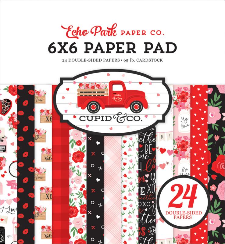 "Cupid & Co. 6x6"" Paper Pad"