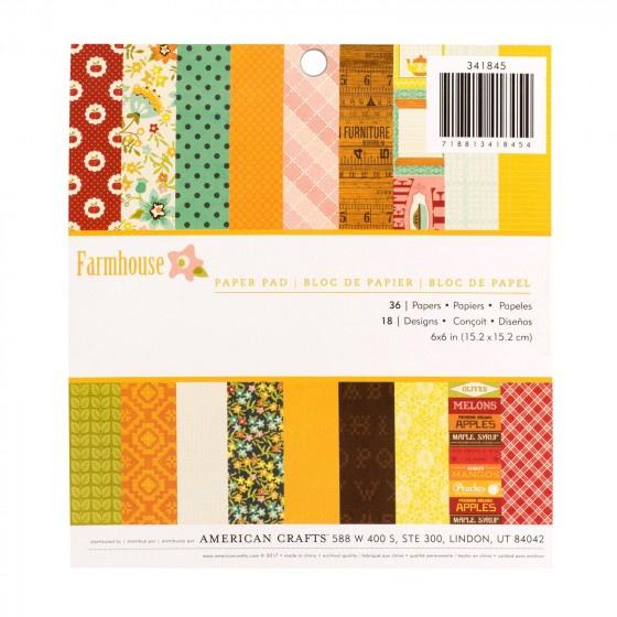 Farmhouse 6x6 Paper Pad