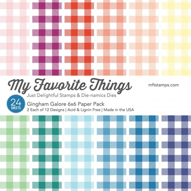 Gingham Galore 6x6 Paper Pack