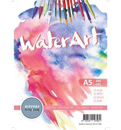 WaterArt / Papier 20 sheets / A5 / 300 grs
