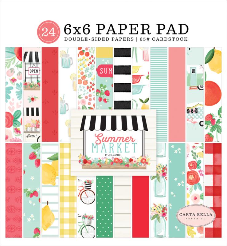 Summer Market 6x6 Paper Pad