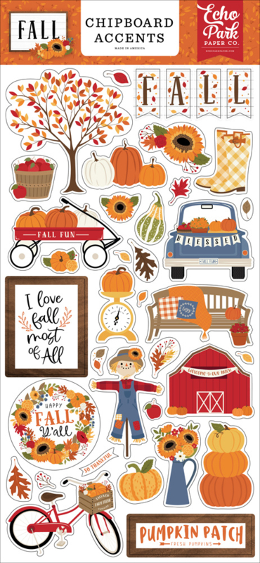 Fall Chipboard Accents