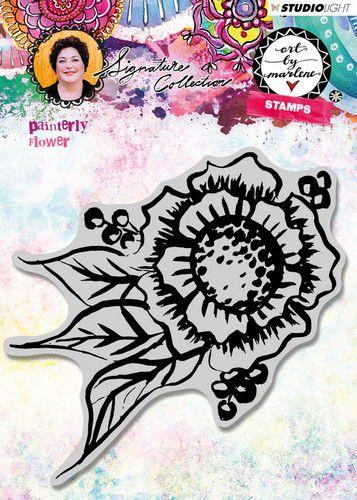 Studio Light - Art by Marlene 3.0 - Stamp Painterly Flower nr.32 STAMPBM32