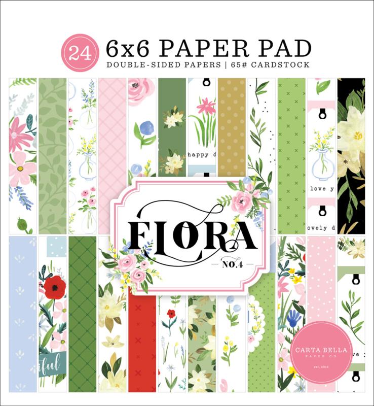 """Flora No. 4 6x6"""" Paper Pad"""