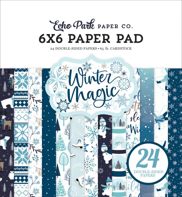 "Winter Magic 6x6"" Paper Pad"