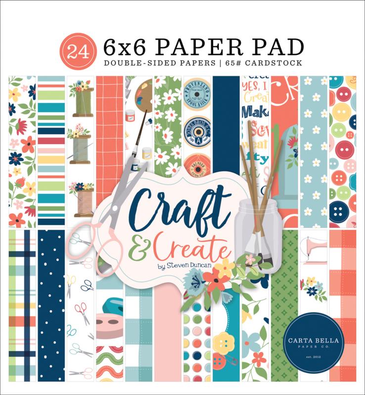 "Craft & Create 6x6"" Paper Pad"