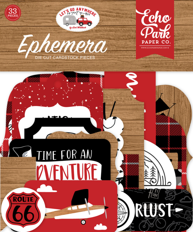 Let's Go Anywhere Ephemera