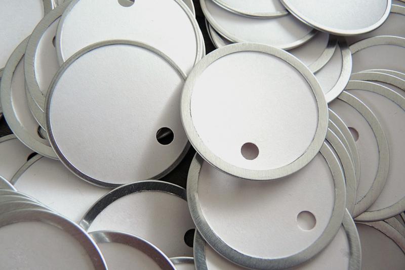 Metal rim tags (5 stuks)