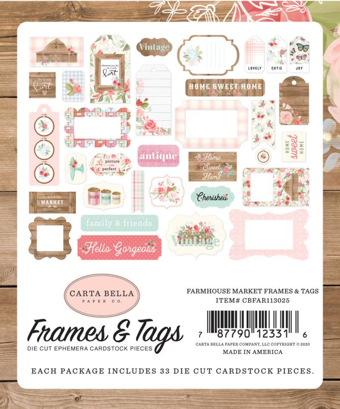 Farmhouse Market Frames & Tags