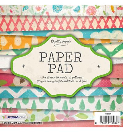 StudioLight Paper Pad - nr. 81   PPSL81