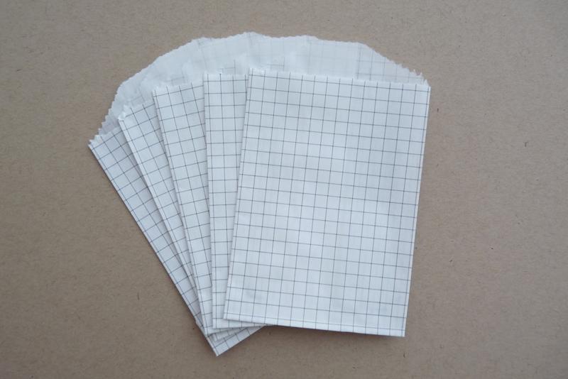 Grid Bags Mini Grijs (5 stuks)