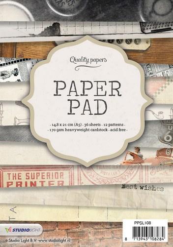 StudioLight Paper Pad - nr.108   PPSL108