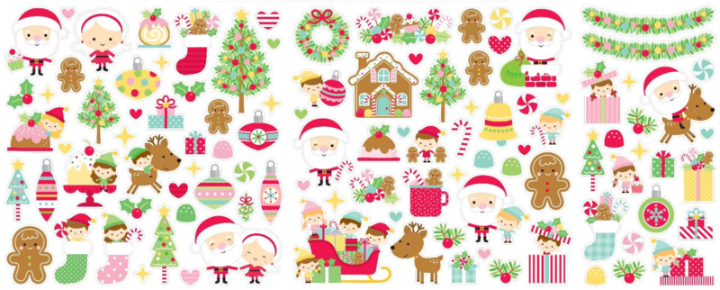 Doodlebug Design Christmas Magic Odds & Ends (6526)