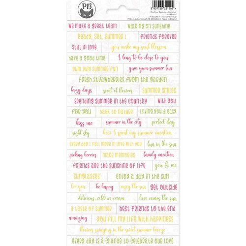 Sticker sheet The Four Seasons - Summer 01 P13-SUM-11