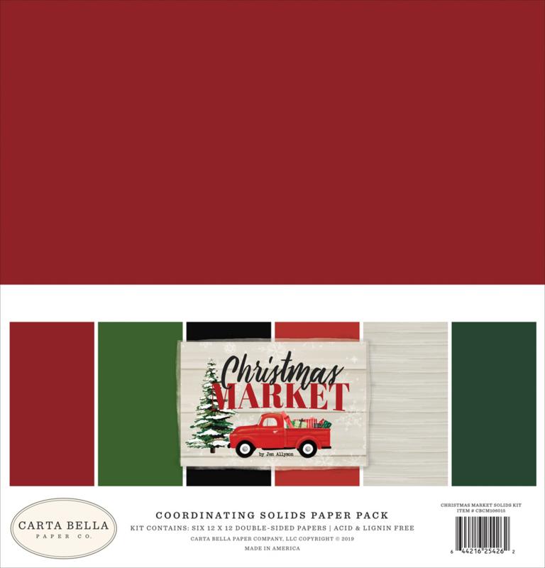 Christmas Market Solids Kit